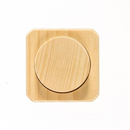 Dimmer-Abdeckung mit Drehknopf