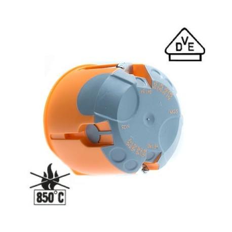 200xAbzweig-Schalterdose - Ø 68 mm - H 61 mm - winddicht