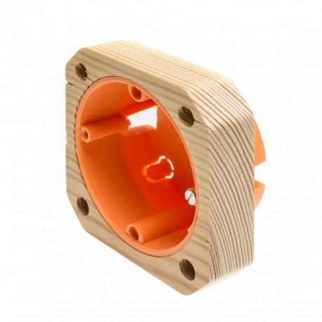 Aufputzgehäuse 1-fach (40 mm)