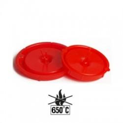 500xPutzschutzdeckel für Dosen Ø 60 mm